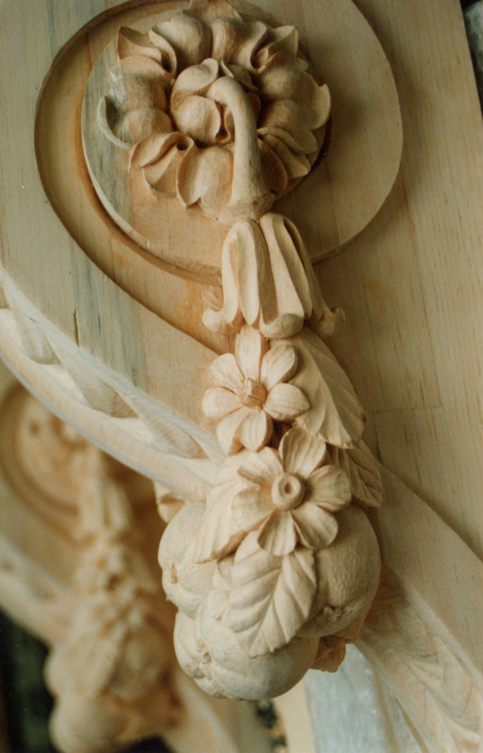 Bespoke Carving Bespoke Legs For A Console Table In